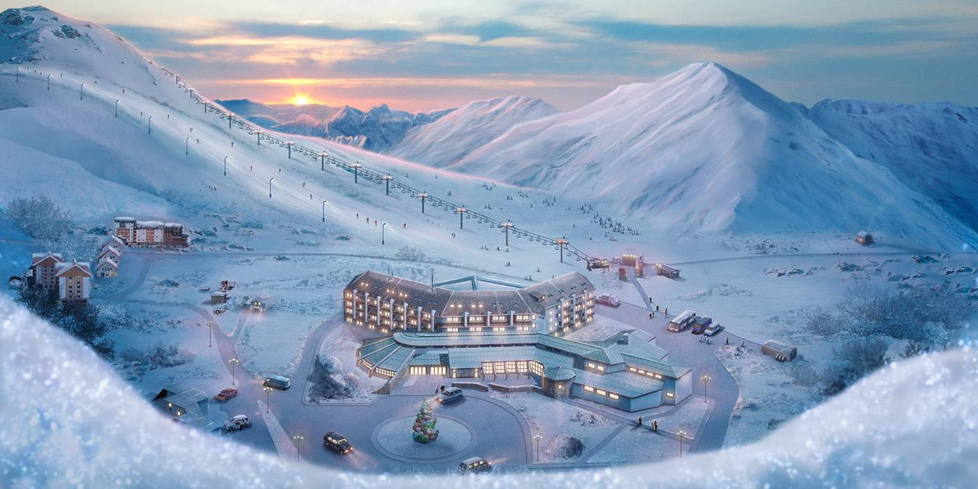 Gudauri WinterSport Hotels Foto