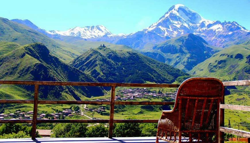 Kazbegi-Mounteins-View-from-Hotel-Georgie