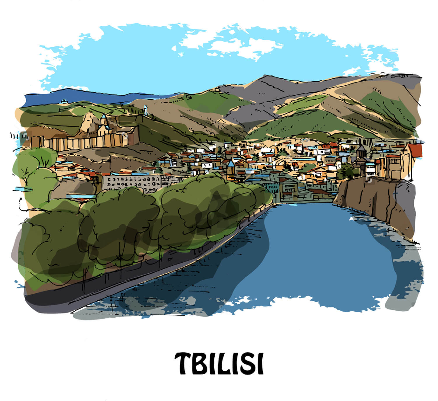 Tbilisi-tiflis-georgia-north-caucasus-touringo-vakantie-in-georgie
